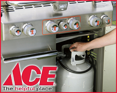 Half Off Your Propane Tank Refill At Ace Hardware In